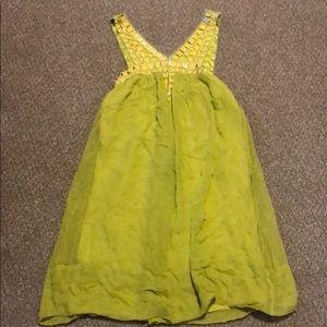 BCBGMAXAZRIA Lemongrass Dress